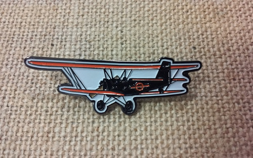 Biplane Pin