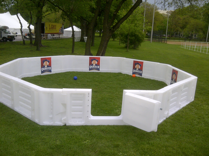 Gaga Ball Pits - Boards System