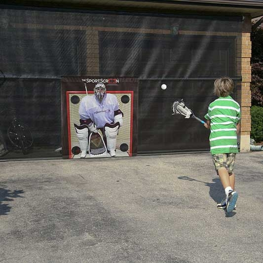 The SportScreen Target Lacrosse Goalie xHockeyProducts.ca Canada