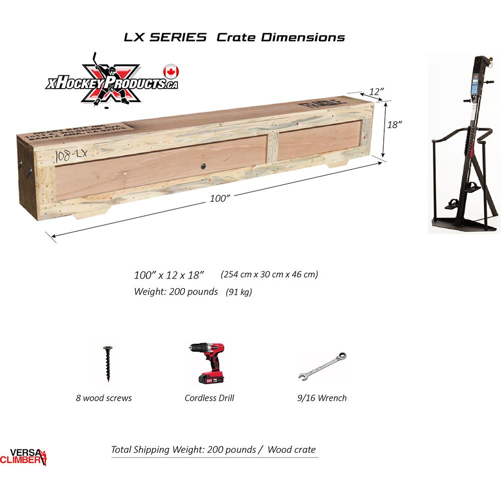 VersaClimber LX from xHockeyProducts.ca Canada