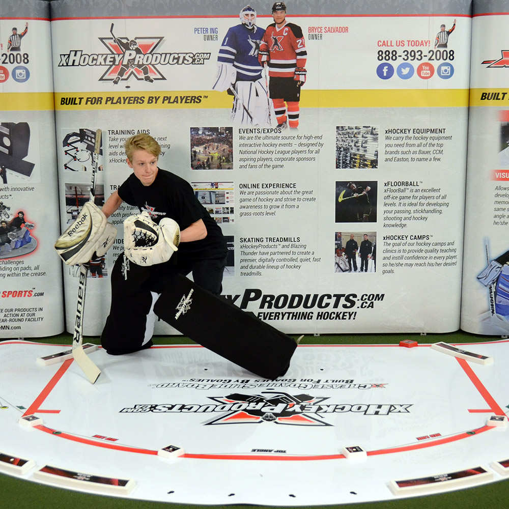 Goalie Leg Pad Sleeves xHockeyProducts.ca Canada