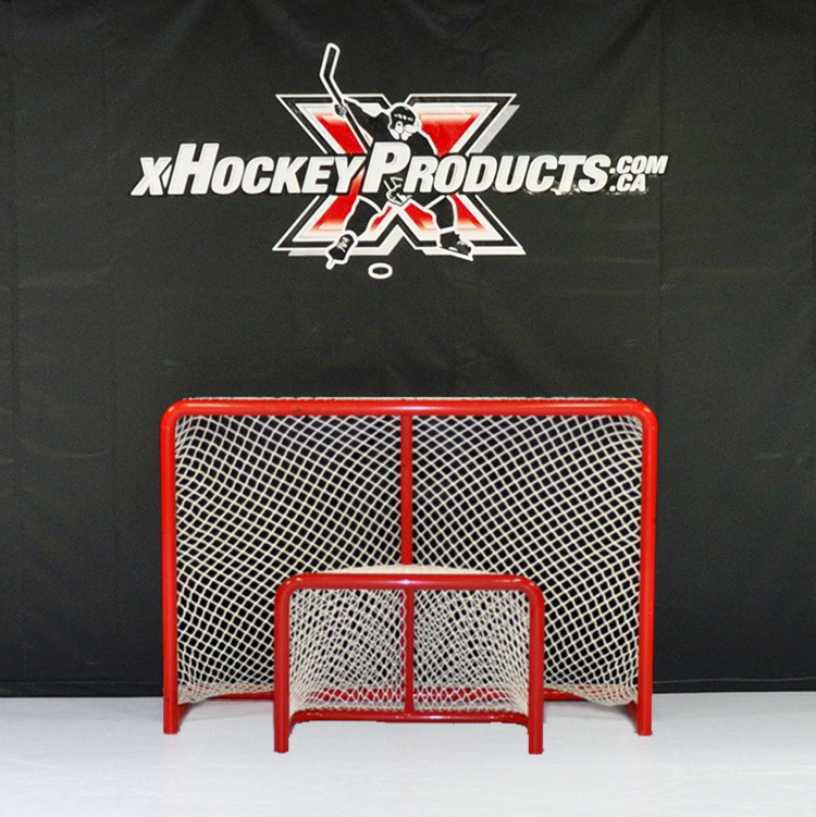Mini Goal Pro Series Welded Hockey Net xHockeyProducts.ca Canada