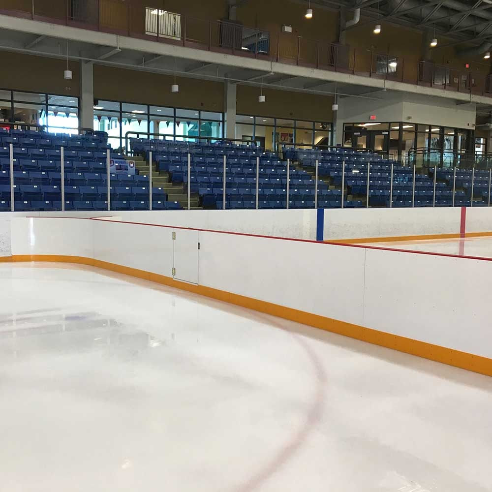 Aluminum Rink Divider at xHockeyProducts.ca Canada