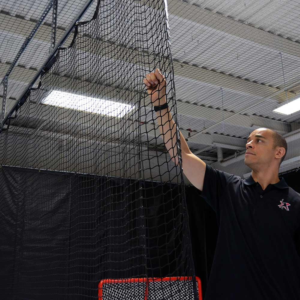 Custom Training Facility Netting