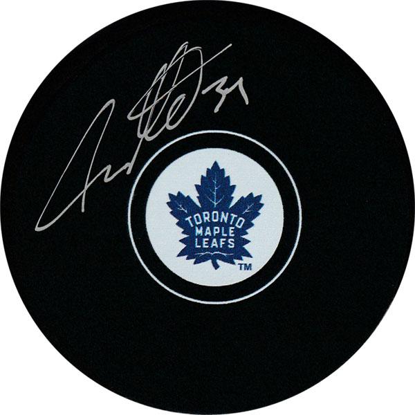 Auston Matthews Autographed Toronto Maple Leafs Puck