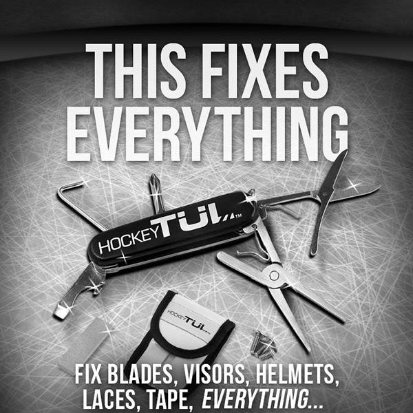 HockeyTUL Deluxe Multi Tool V 2.0 at xHockeyProducts.ca