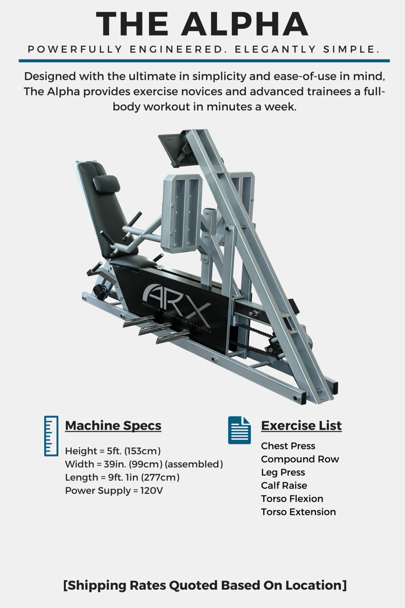 ARX The Alpha - Powerfully Engineered Elegantly Simple