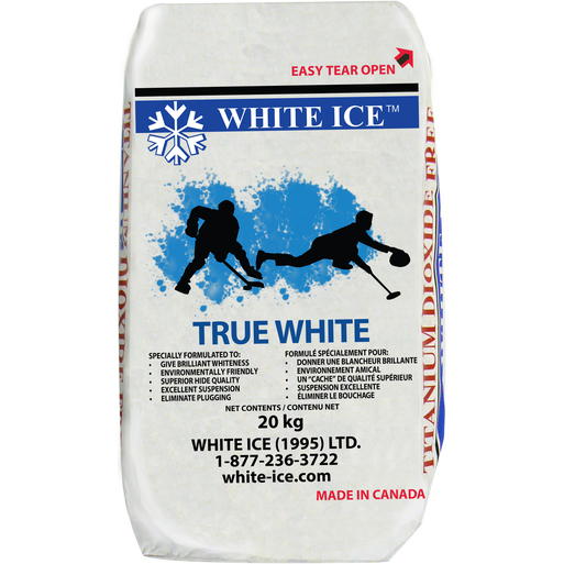 True White Ice Paint xHockeyProducts.ca Canada