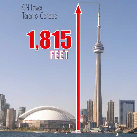 Climb the CN Tower Toronto  on a VersaClimber xHockeyProducts.ca Canada
