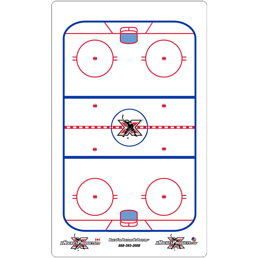 """Hockey Dry Erase Coach Clipboard 9""""x15"""""""