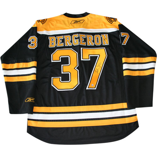 Patrice Bergeron Autographed Boston Bruins Pro Jersey xHockeyProducts.ca Canada