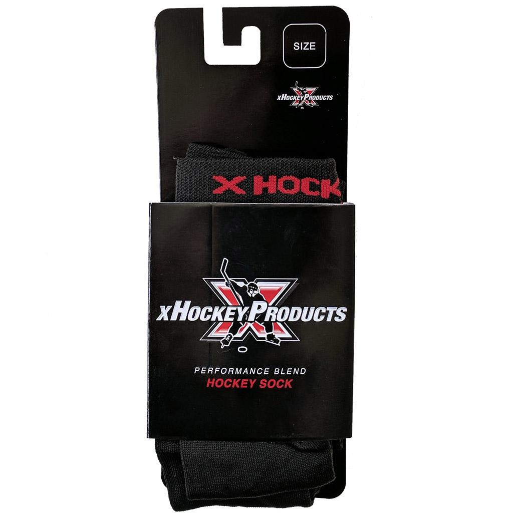 xHockeyProducts Tall Cut Performance Compression Skate Socks