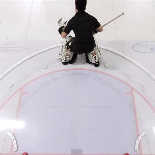 xCrease Goalie Slideboard Commercial xHockeyProducts.ca Canada