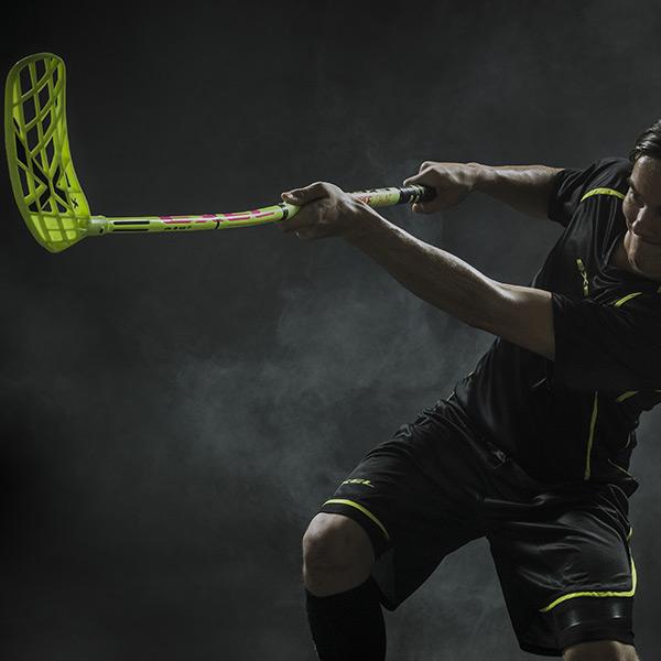Exel Doublecurve CRM Floorball Stick xHockeyProducts.ca Canada