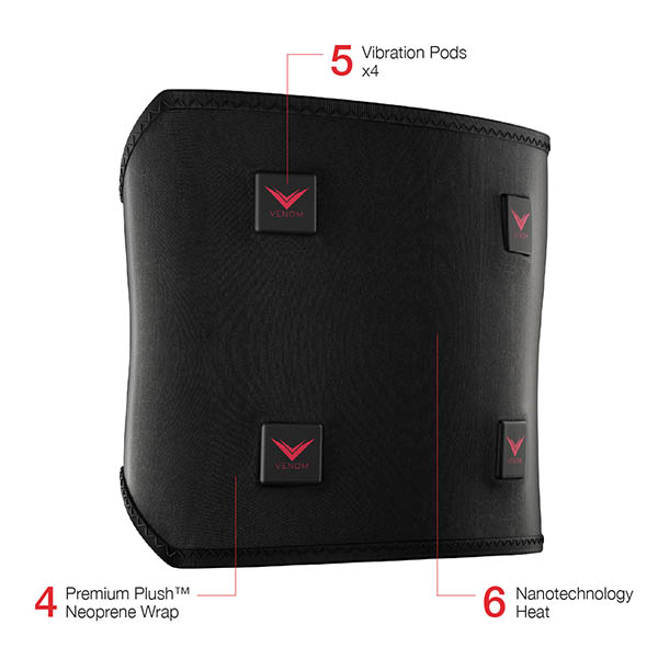HYPERICE Venom Back Wrap xHockeyProducts.ca Canada