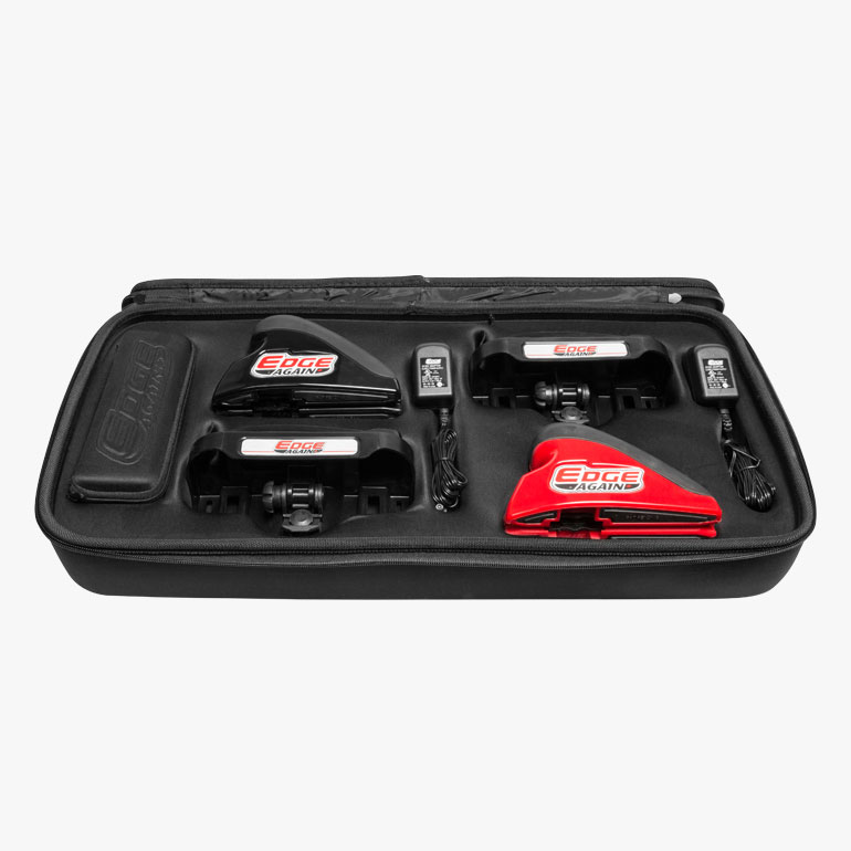 Edge Again Power Skate Sharpener PLAYER and GOALIE Double Pro Power Kit at xHockeyProducts.ca Canada