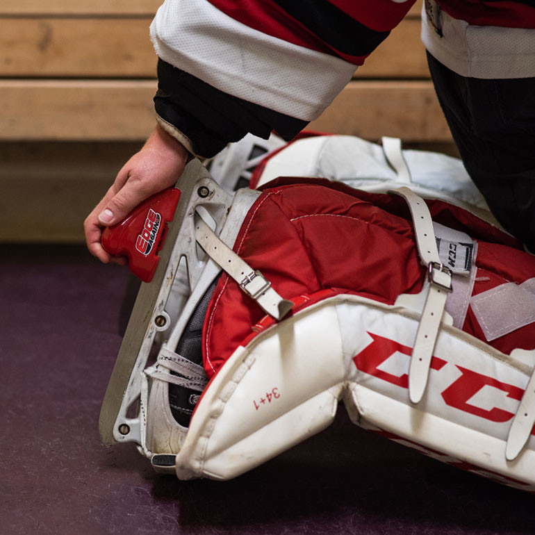 Edge Again Manual Skate Sharpener GOALIE at xHockeyProducts.ca Canada