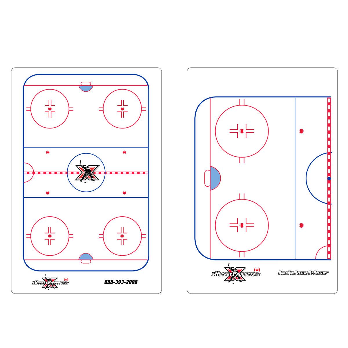 """Hockey Dry Erase Coach Clipboard 10""""x16"""""""