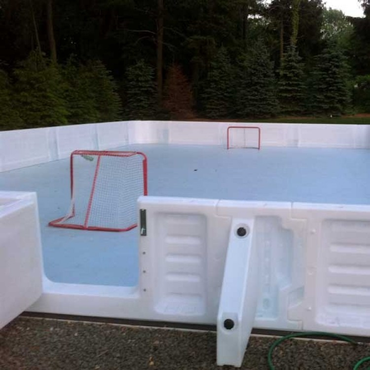ProWall ICE Plastic Dasherboard System from xHockeyProducts.ca Canada.