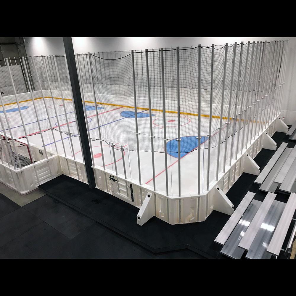 ProWall ICE Plastic Dasherboard System xHockeyProducts.ca Canada.
