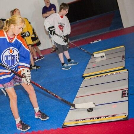 SuperDeker Advanced Hockey Training System BUNDLE xHockeyProducts.ca Canada