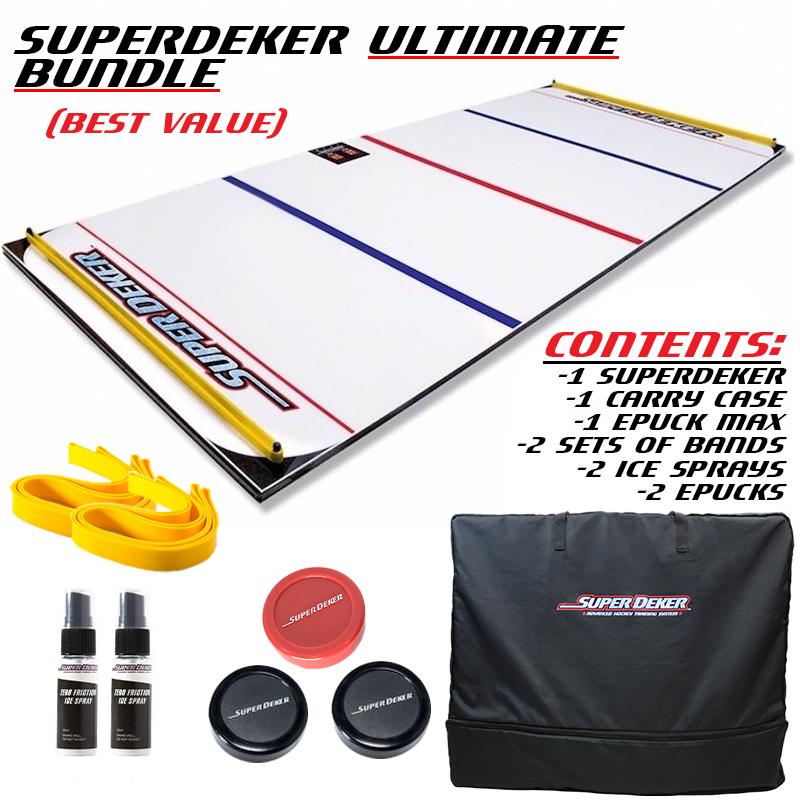 SuperDeker Advanced Hockey Training System Ultimate BUNDLE xHockeyProducts.ca Canada