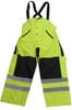 Forester 7256B Class E Hi-Vis Rain Bibs / Rain Pants