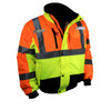 Radians SJ12 3 Weather Proof Multi-Color Bomber Jacket with Quilted Built-In Liner