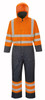 Hi-Vis Lined Coverall - Orange ## S458O ##
