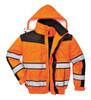 Hi-Vis Classic Bomber Jacket - Orange ## UC466OBR ##