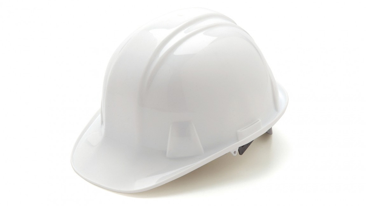 Pyramex® Cap Style Hard Hats - White