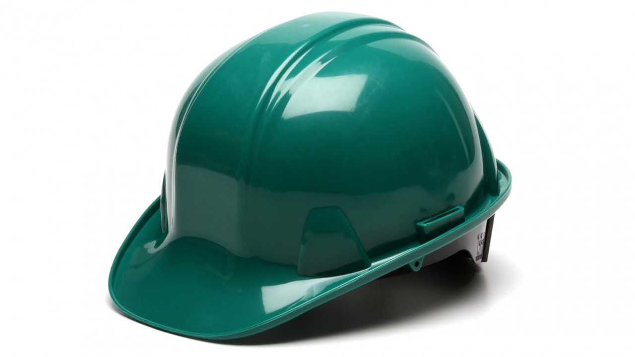 Pyramex® Cap Style Hard Hats - Green