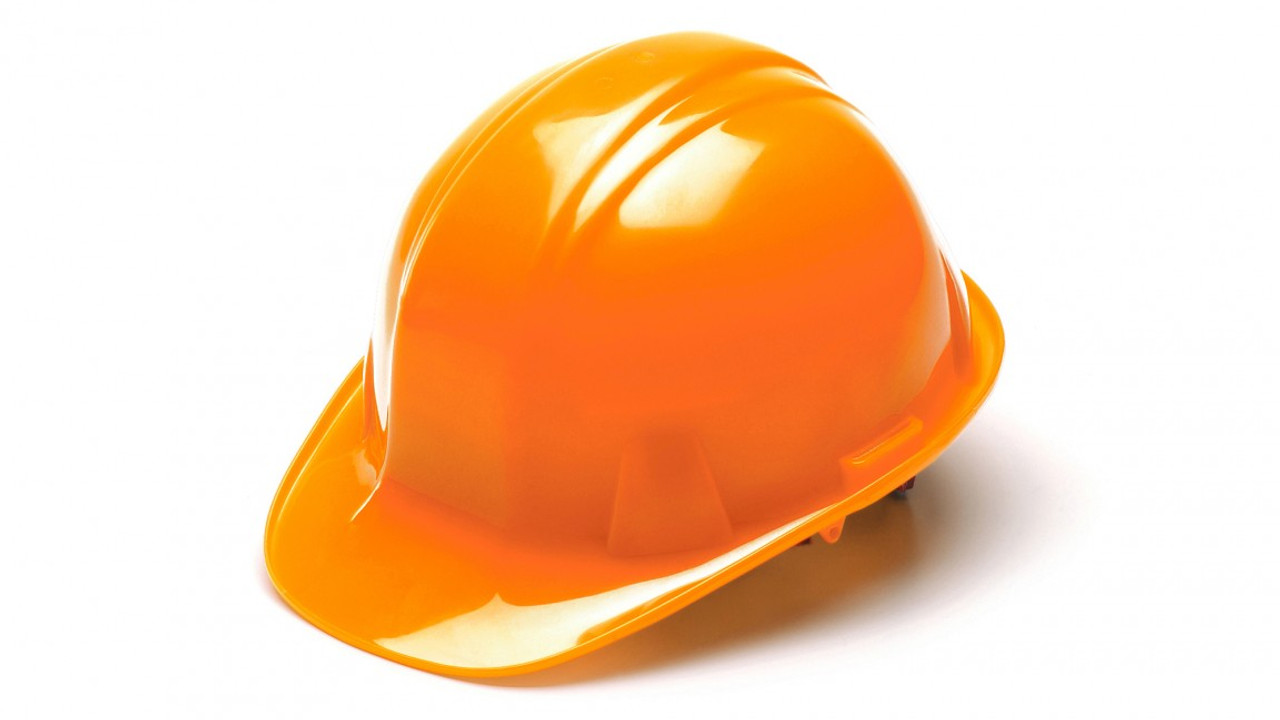 Pyramex® Cap Style Hard Hats - Safety Orange