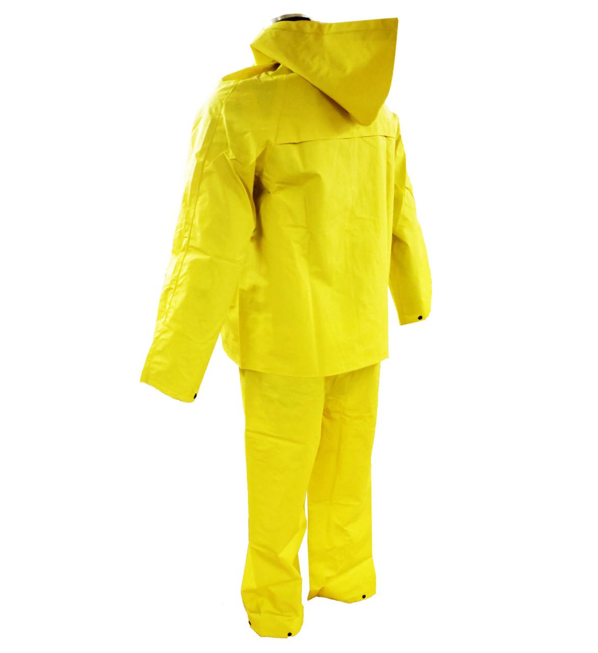 3 Piece 35mm PVC/Poly Rain suit