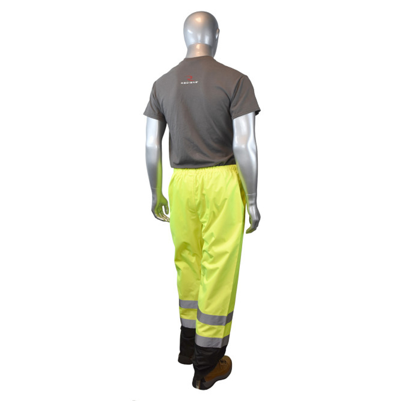 Radians SP41 Class E Sealed Waterproof Safety Rain Pants - BACK