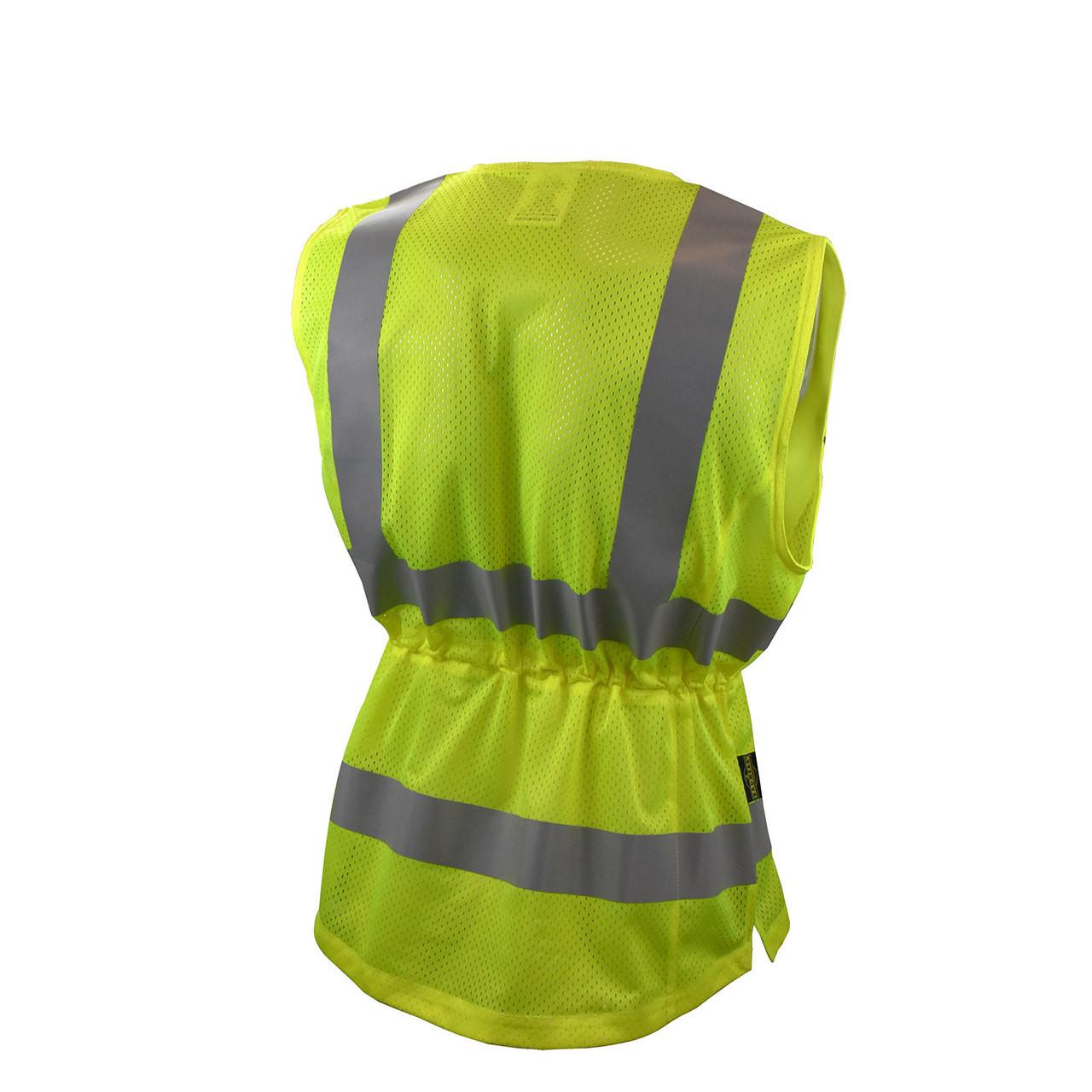 Radians® CLASS 2- SVL1 Type R, Contoured Ladies Safety Vest - BACK