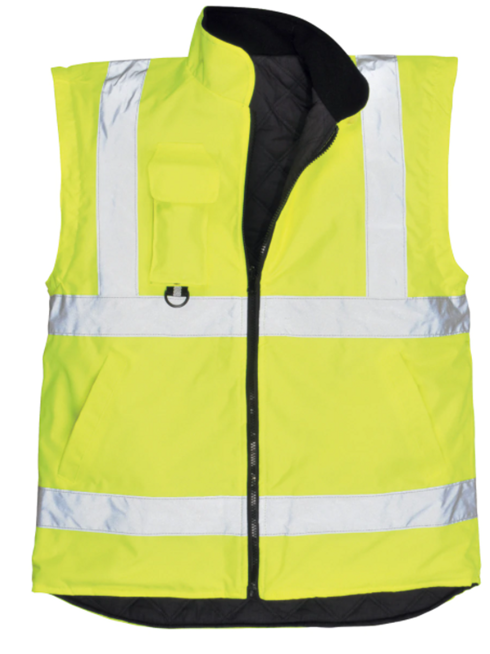 Portwest US427YER High Visibility 7-in-1 Traffic Jacket, Yellow