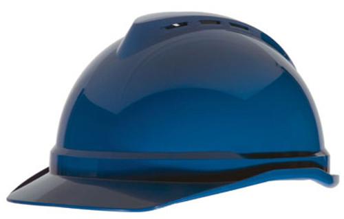 V-Gard® 500 Vented Cap Style Hard Hats - Navy