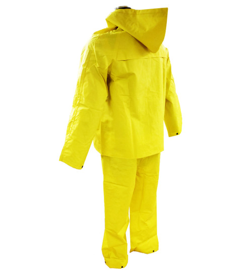3 Piece 35mm PVC/Poly Rain suit