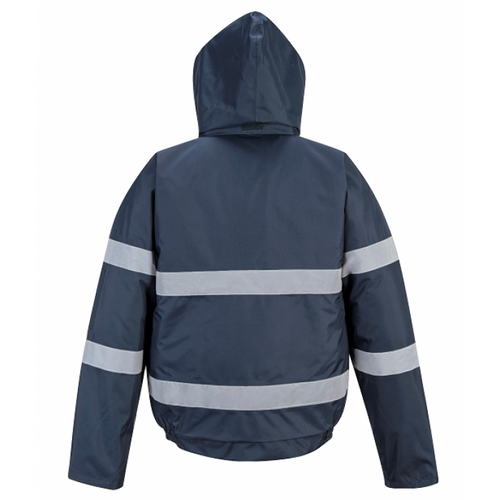 Portwest US434  Iona Lite Waterproof Bomber Jacket - back