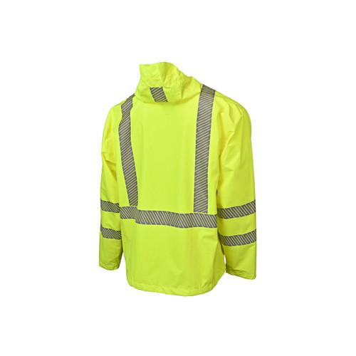 Radians Lightweight Packable Raincoat with Waterproof Ripstop  ## RW11-3ZGR ##