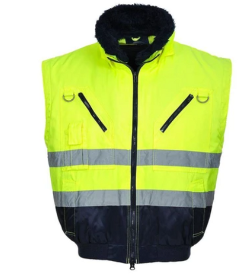 Portwest UPJ50 Hi-Vis 3-in-1 Pilot Jacket