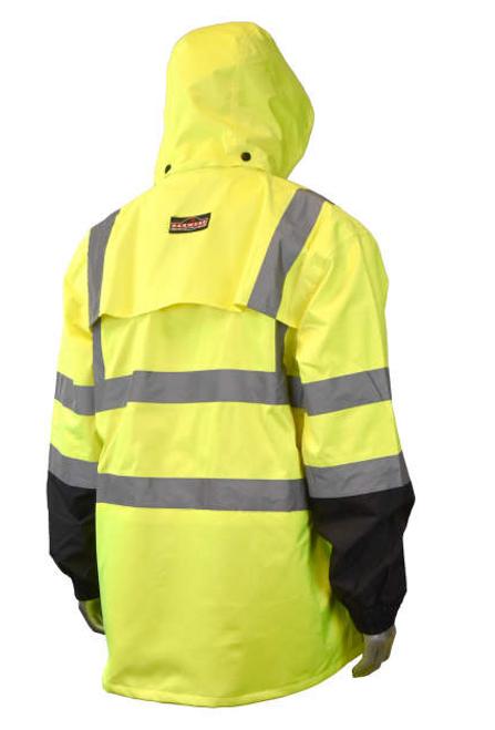Radians RW30-3Z1Y General Purpose Rain Jacket - Yellow/Black