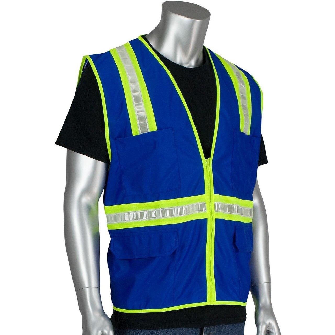 Enhanced Visibility Safety Vests