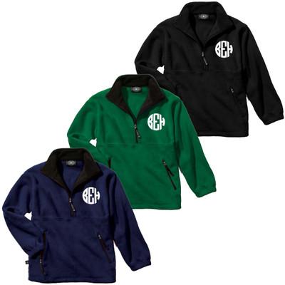 Monogrammed Youth Adirondack Fleece Pullover