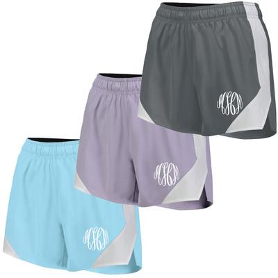 Monogrammed Olympus Shorts