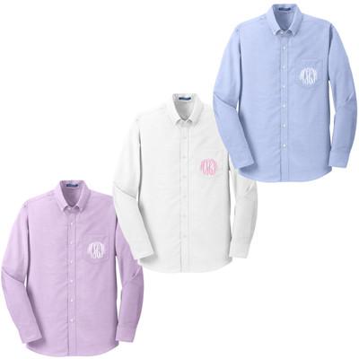 Monogrammed Bridesmaid Oxford Shirt