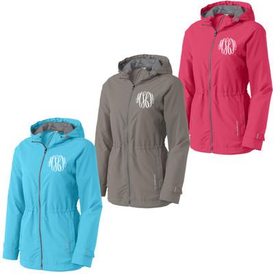 Ladies Monogrammed Northwest Slicker Jacket