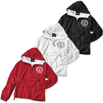 Monogrammed Charles River Classic Solid Pullover