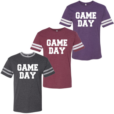 Game Day Football Tee